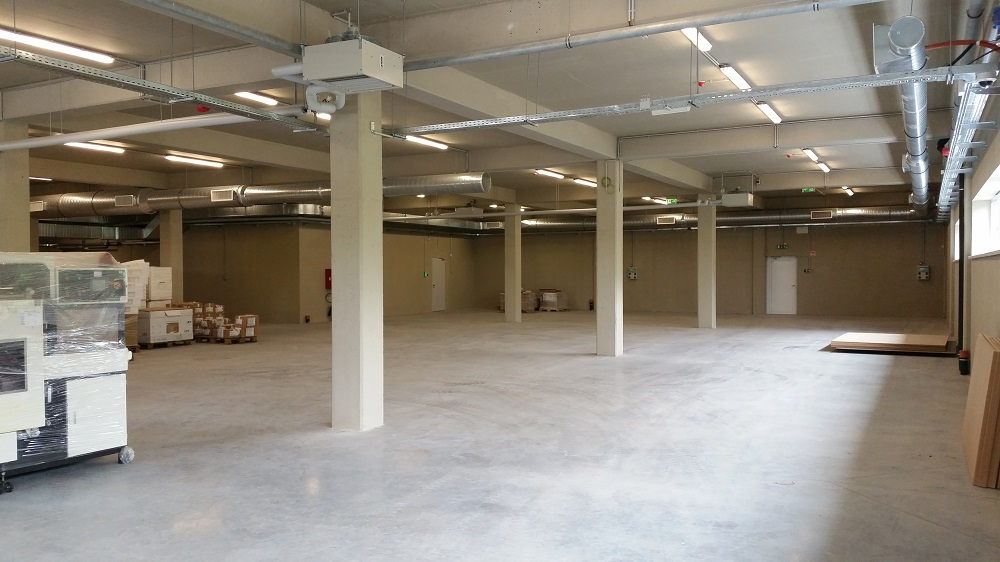 Server Room Insulation : Eurocircuits eger finishes second building