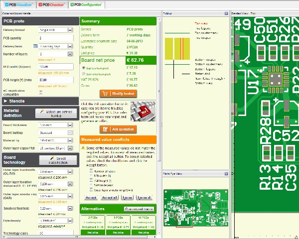 pcb calculator now integrated with pcb visualizer eurocircuits rh eurocircuits com Kalkulator Tumblr Kalkulator Art