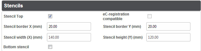PCB Calculator- Stencils