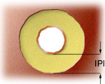 Inner layer pad insulation
