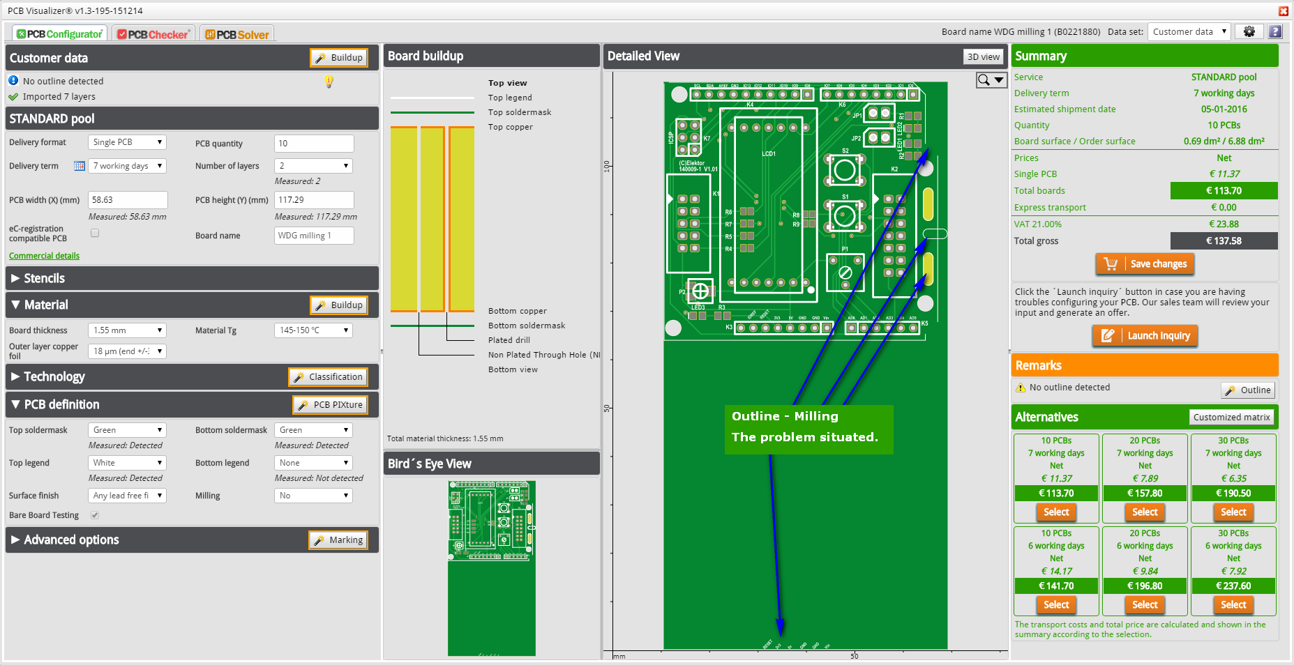 PCB Solver – Outline/Milling Editor - Eurocircuits