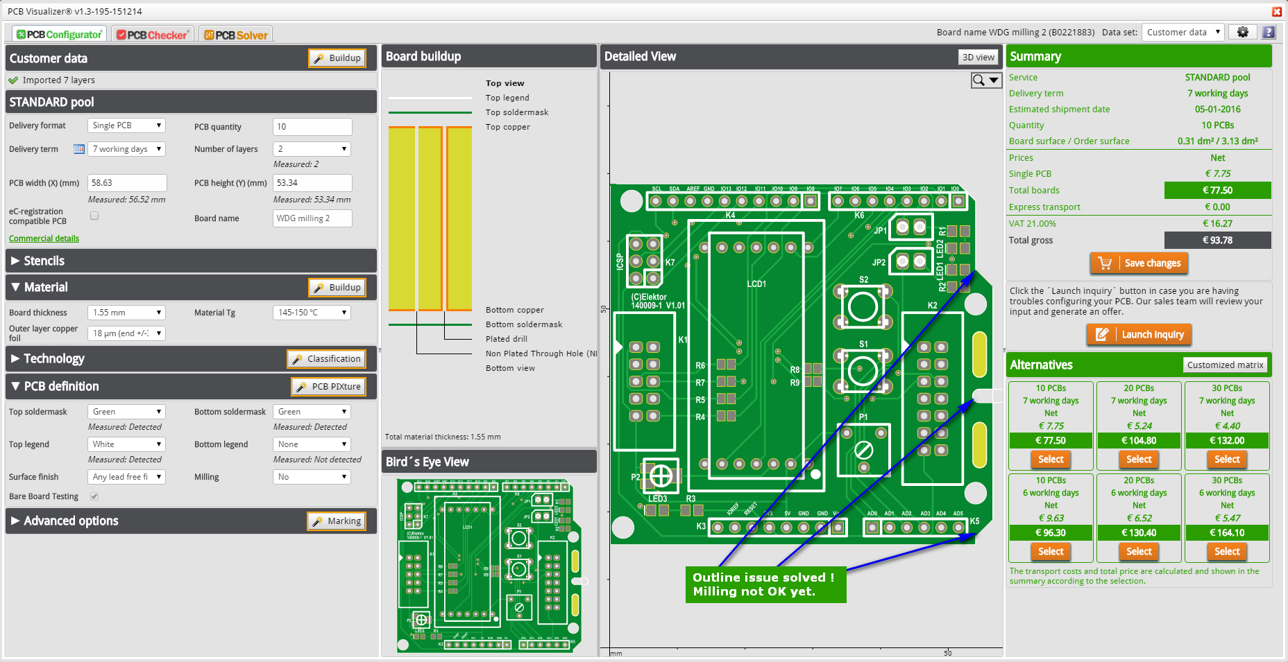 PCB Solver – Outline/Milling Editor - Eurocircuits Eurocircuits