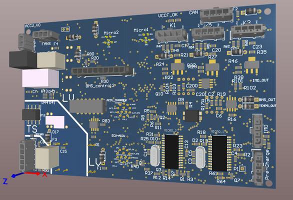 Figure 6. AMS Master PCB