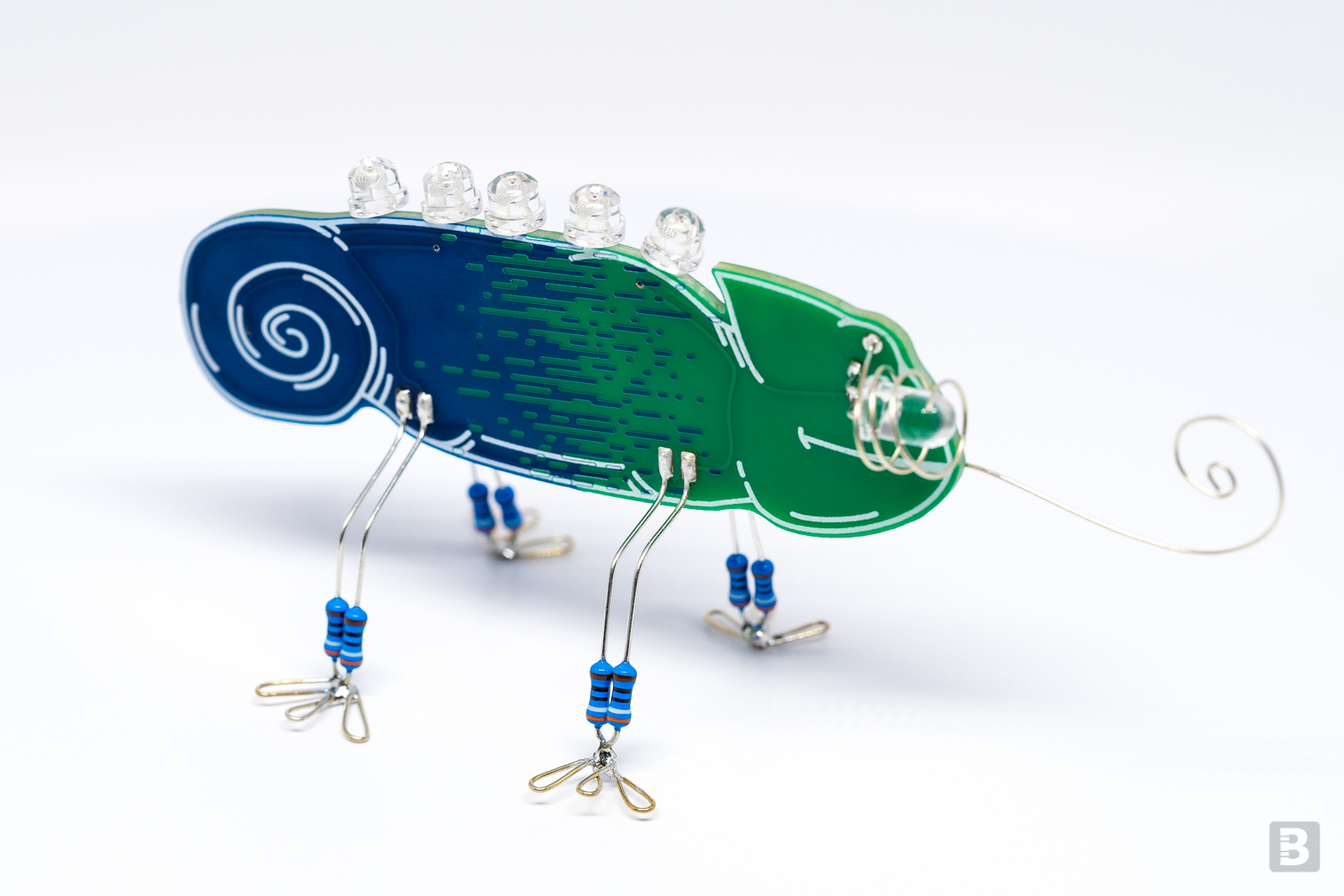 The Gent is a recent Boldport Club project where we used two soldermask passes again.