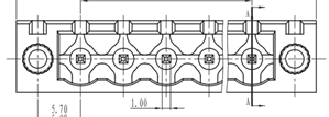 Shape of the component.
