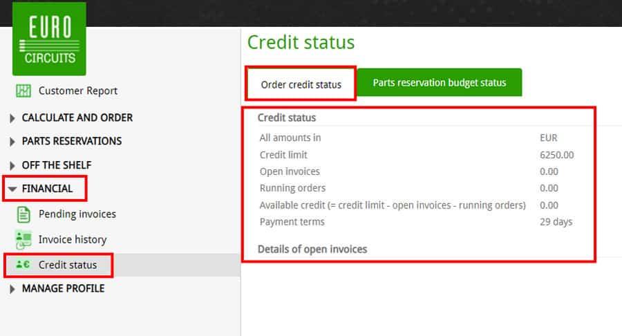 Credit-Status