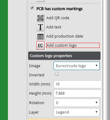 EC-logo in marking editor 1