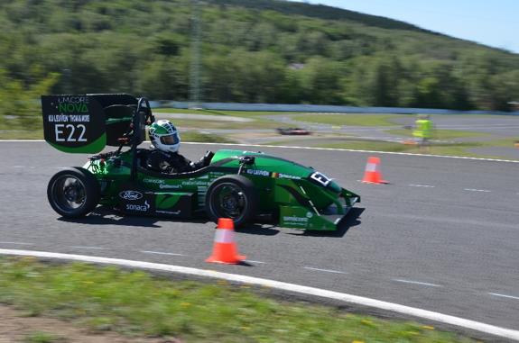 Formula Electric Belgium car