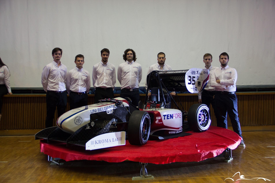 "Belgrade Formula Student Team ""Road Arrow"" believes in their"
