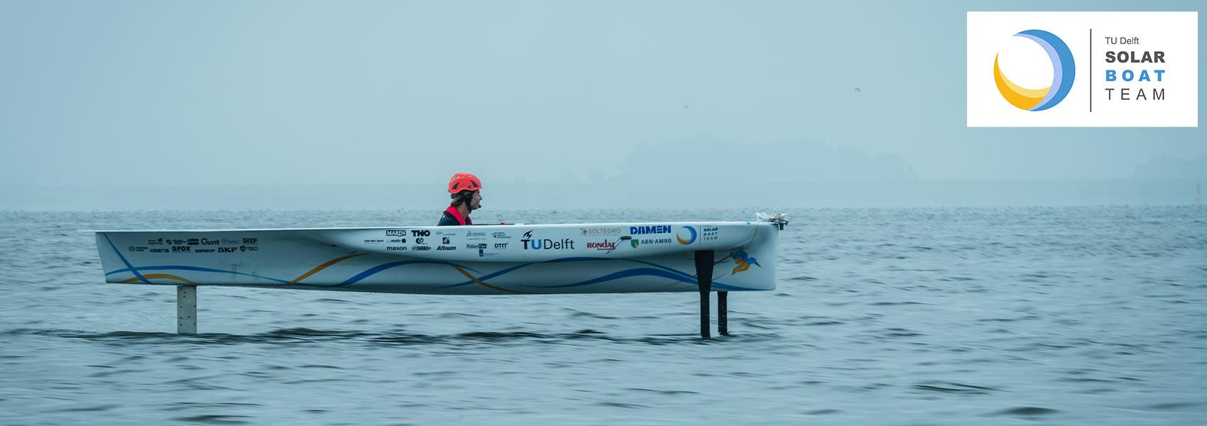 TU Delft Solar Boat Team-2020