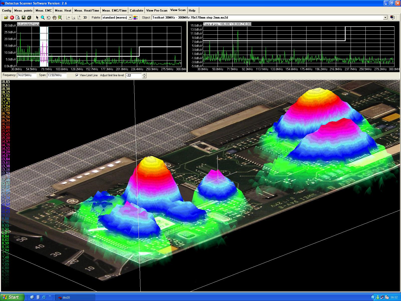 Testkort MultiScan-2 3D