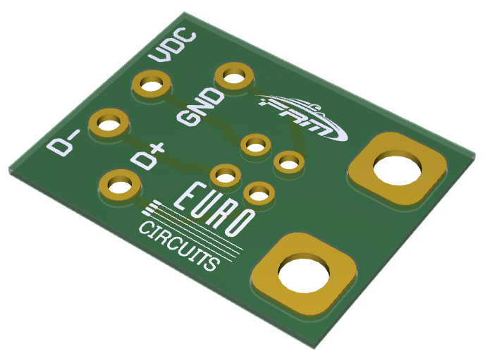 USB Interface PCB