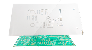 Stencil from PCB