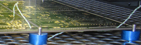 Correct placement of the sensor on the PCB