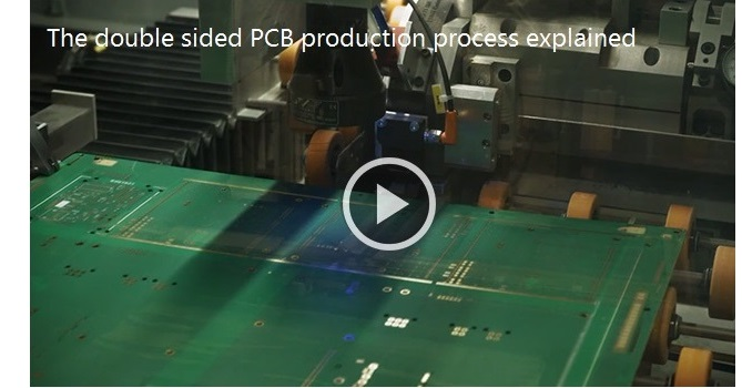 Video Making a Double Sided PCB