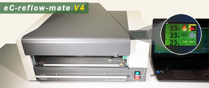 Eurocircuits product news – eC-reflow-mate V4 released