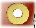 Inner layer pad isolation- IPI